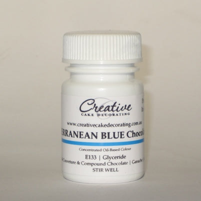Creative Oil Chocolate Colour 20g - Mediterranean Blue