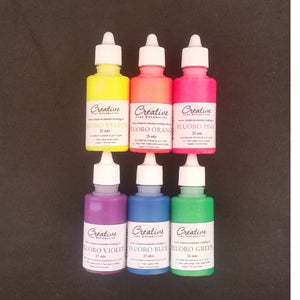 Creative Cake Decorating Fluoro Colour set