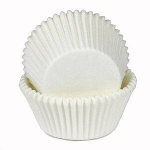 White Cupcake Cups – 25 pack