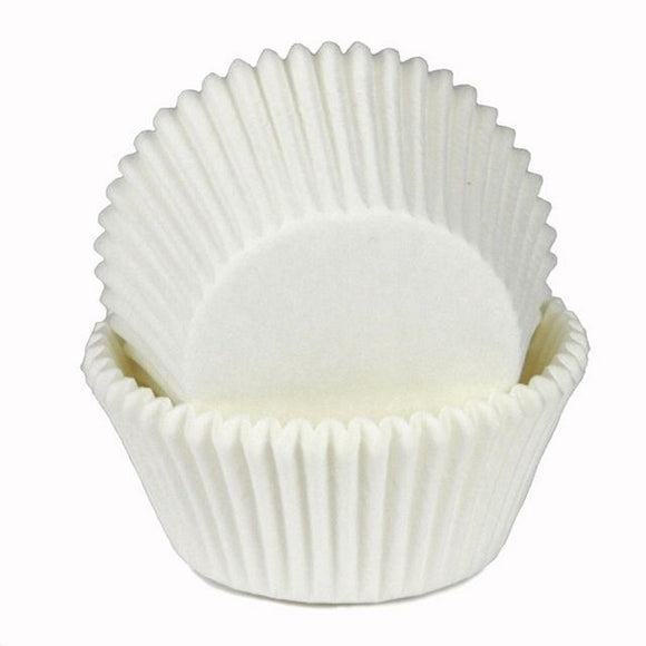 White Cupcake Cups – 50 pack