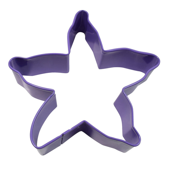 Purple Starfish cookie cutter 10cm