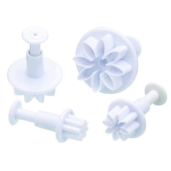 Daisy Fondant Plunger Cutter Set of 4