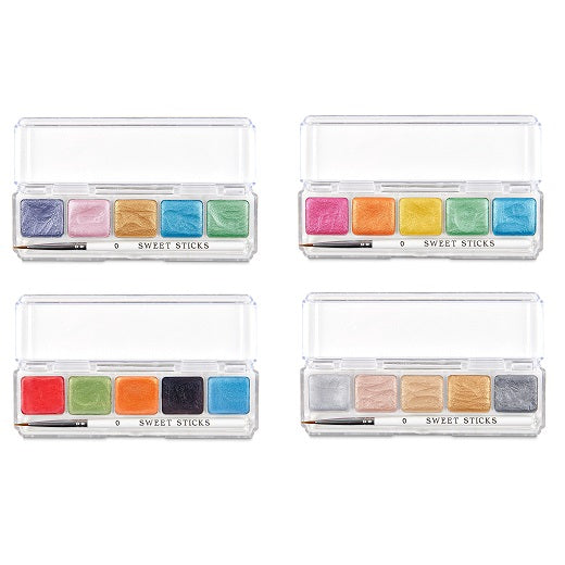 Edible Art Paint Water Activated Mini Palette