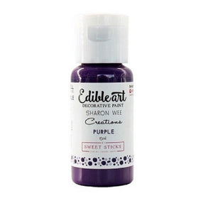 Sharon Wee Creations Purple Edible Art Decorative Paint 15ml
