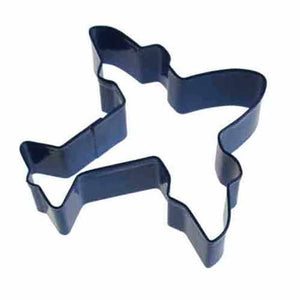 Blue Plane Cookie Cutter 10cm