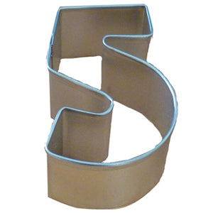 Number 5 Cookie Cutter 7.5cm