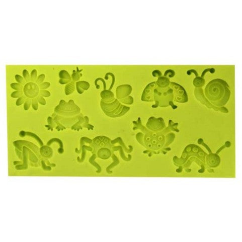 Assorted mini insect / bugs silicone mould
