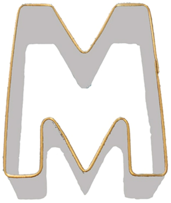 Letter M Cookie Cutter 7.5cm