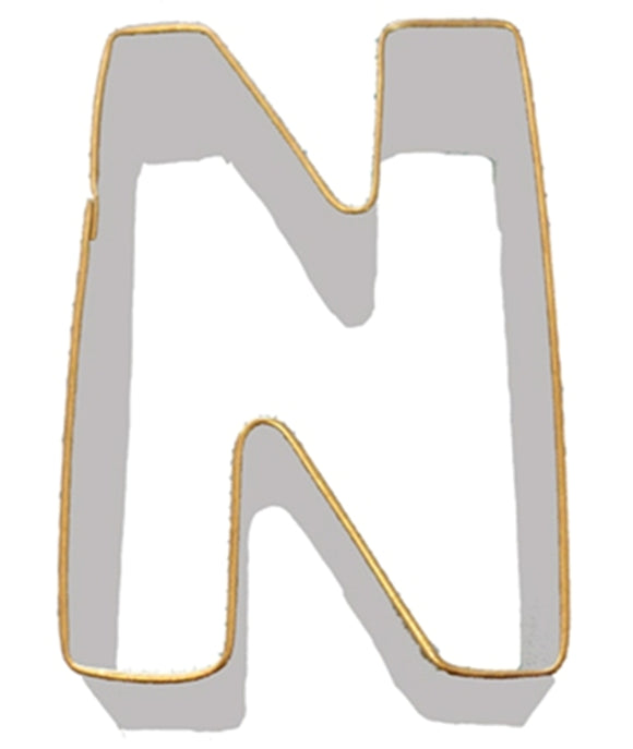 Letter N Cookie Cutter 7.5cm