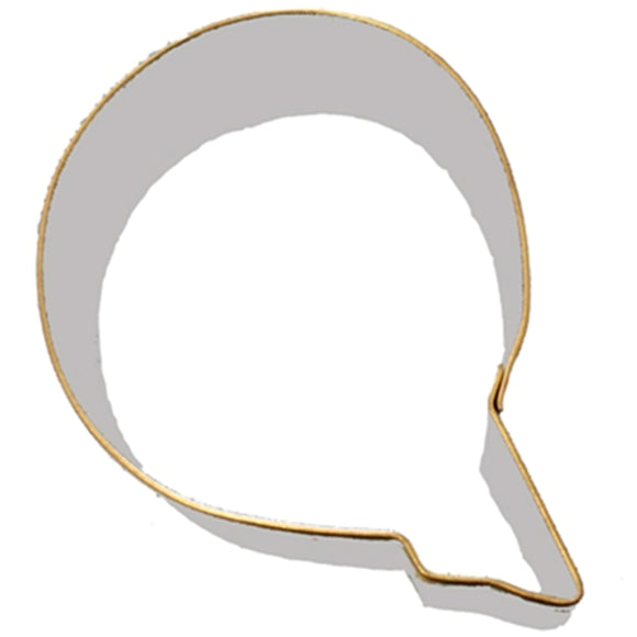Letter Q Cookie Cutter 7.5cm