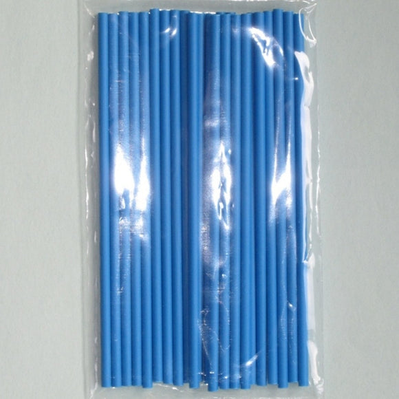 Blue Lollipop Sticks 15cm (pack 25)