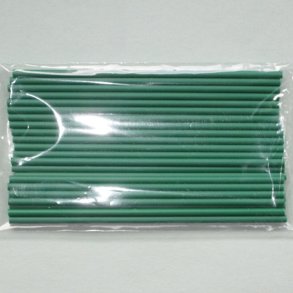 Green Lollipop Sticks 15cm (pack 25)