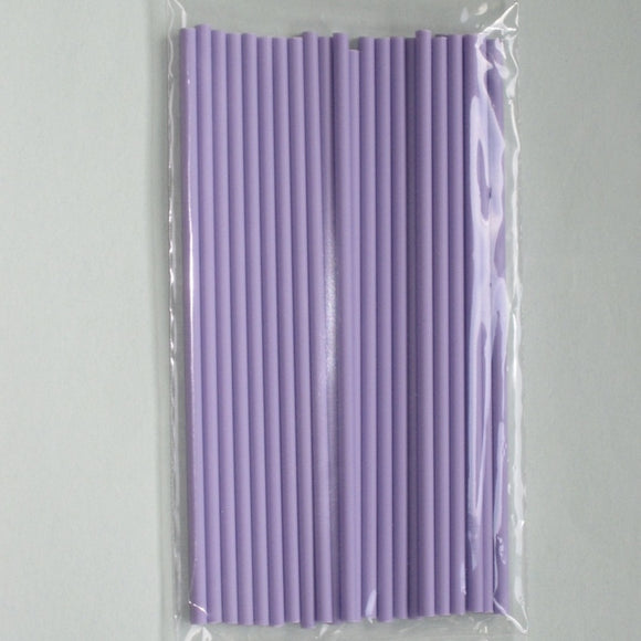 Mauve Lollipop Sticks 15cm (pack 25)