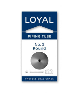Loyal No. 3 Round Piping Tip