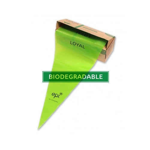 Loyal Green Biodegradable Disposable Piping bag 46cm (18 inch) 100 pack