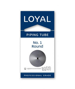 Loyal No. 1 Round Piping Tip