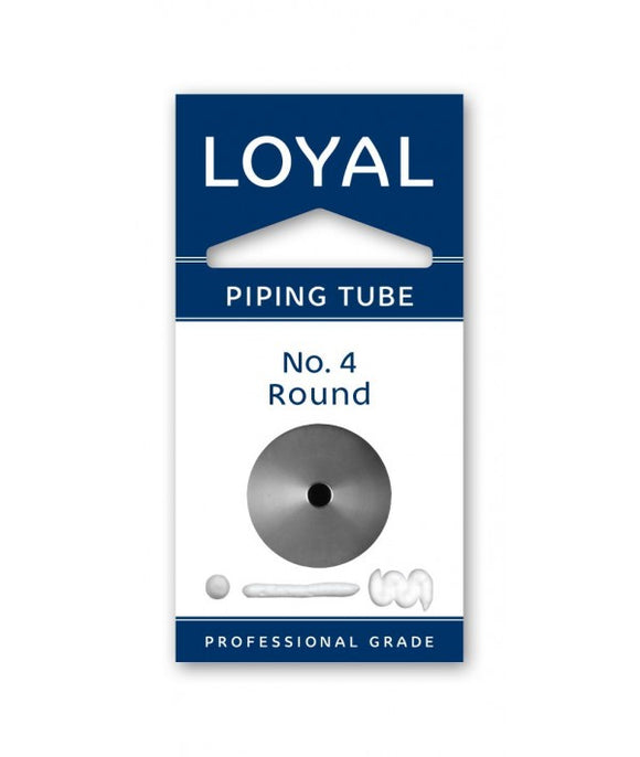 Loyal No. 4 Round Piping Tip