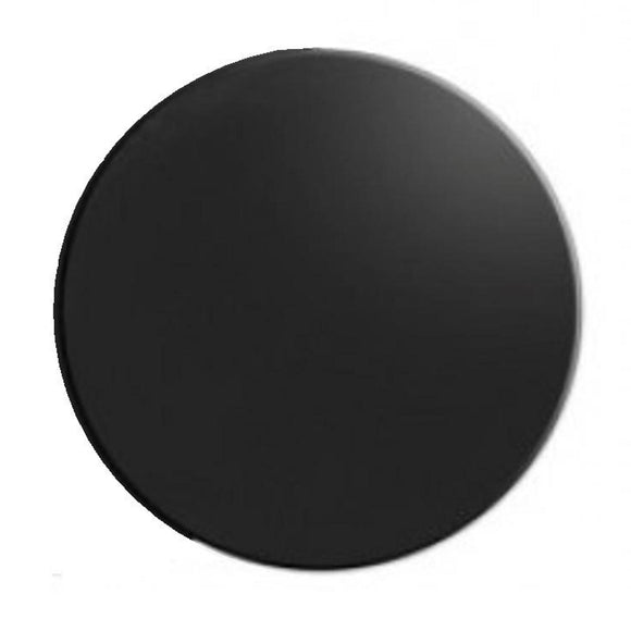 Cake Board Black Round Masonite 40cm / 16 inch