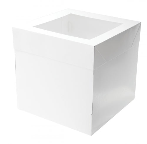 Tall Cake Box 10 inch Square x 10 inch high (2 piece)