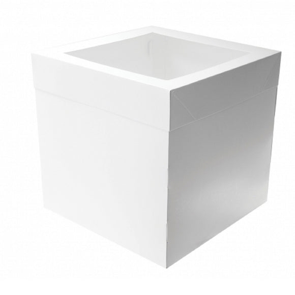 Tall Cake Box 14 inch Square x 12 inch high (2 piece)