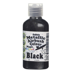 Magic Colours Metallic Airbrush Black 55ml