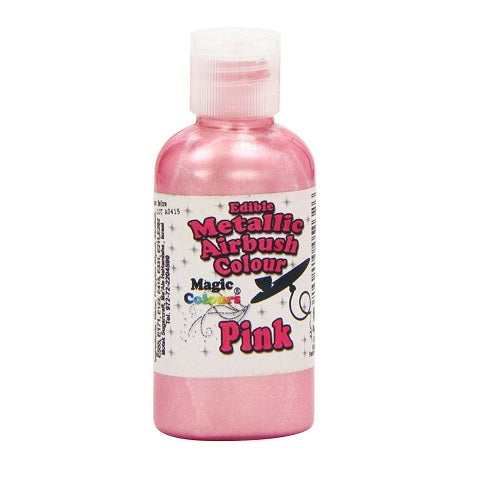 Magic Colours Metallic Airbrush Pink 55ml