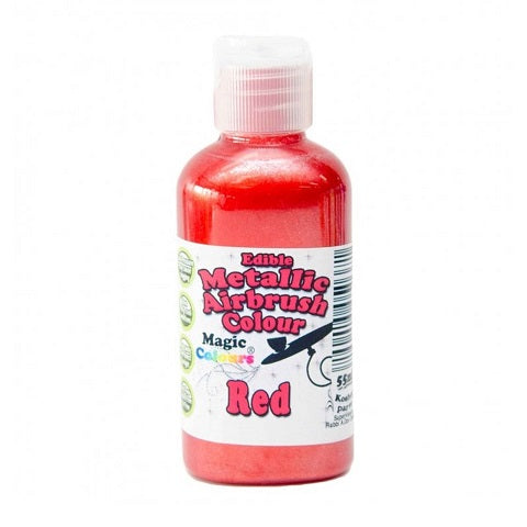 Magic Colours Metallic Airbrush Red 55ml