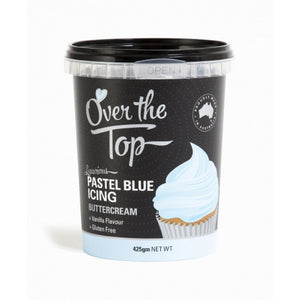 Over The Top Pastel Blue Buttercream Icing 425g
