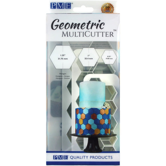 PME Geometric Hexagon MultiCutter (set of 3)