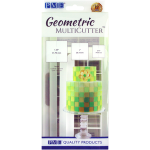 PME Geometric Square MultiCutter (set of 3)