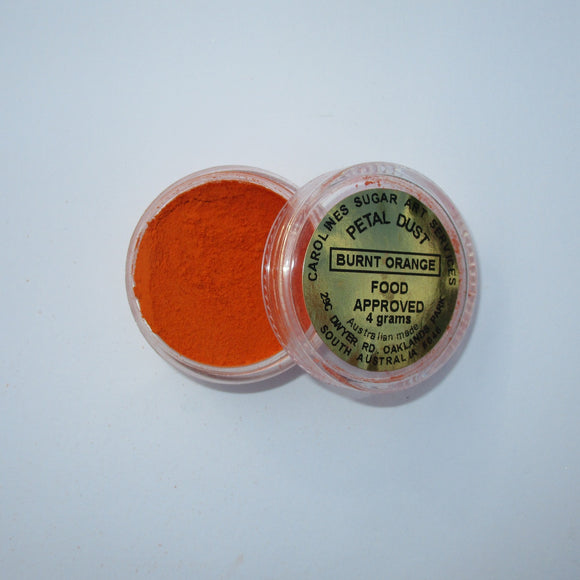 Petal Dust Burnt Orange 4g