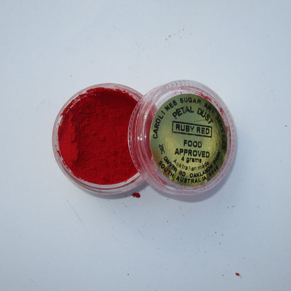 Petal Dust Ruby Red 4g