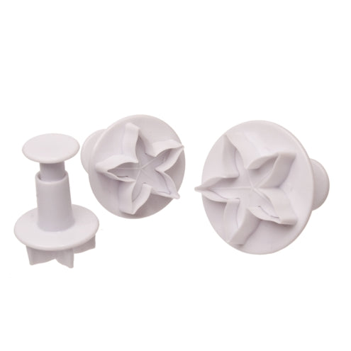 Calyx Fondant Plunger Cutter set of