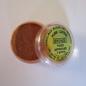Pure Lustre Dust 2g - Bronze