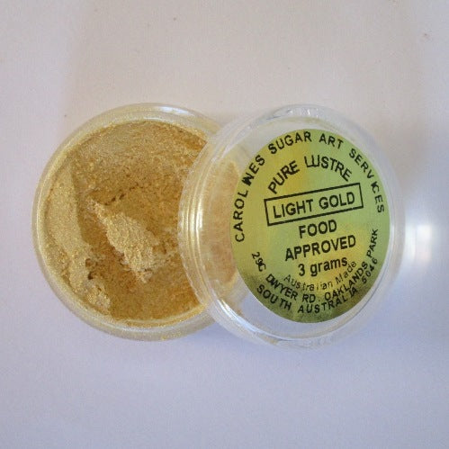 Pure Lustre Dust 2g - Light Gold