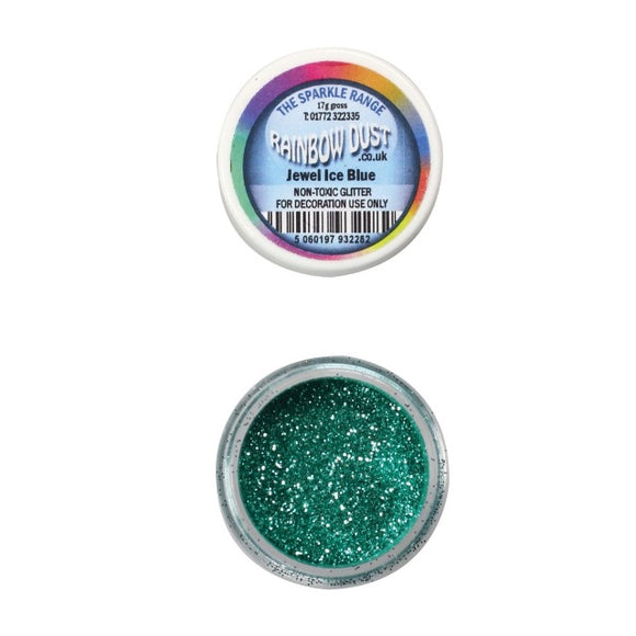 Rainbow Dust Jewel Ice Blue Sparkle Glitter