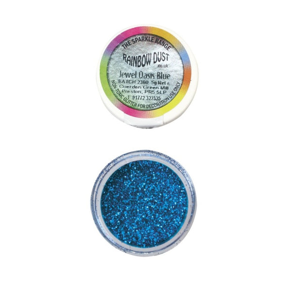 Rainbow Dust Jewel Oasis Blue Sparkle Glitter