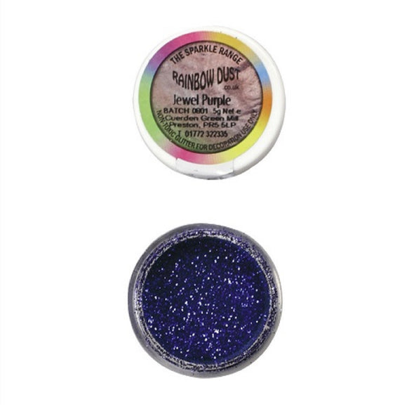 Rainbow Dust Jewel Purple Sparkle Glitter