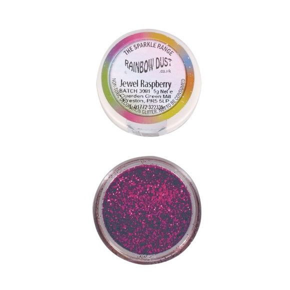 Rainbow Dust Jewel Raspberry Sparkle Glitter