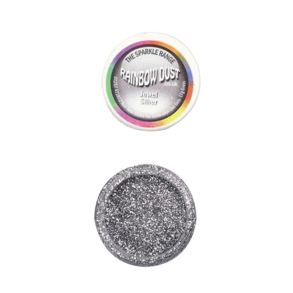 Rainbow Dust Jewel Silver Sparkle Glitter