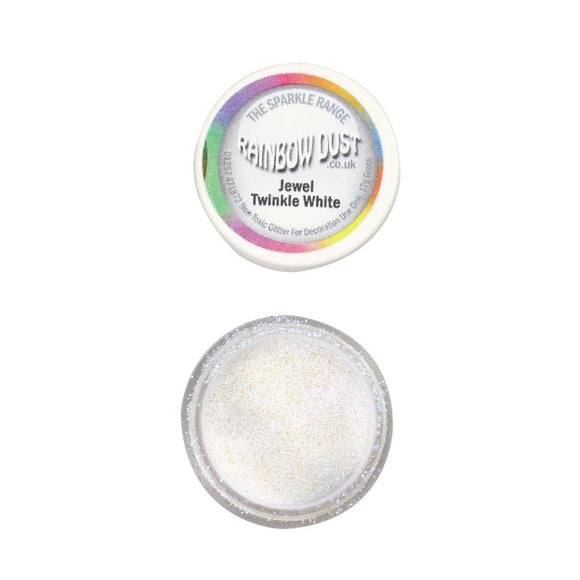 Rainbow Dust Jewel Twinkle White Sparkle Glitter