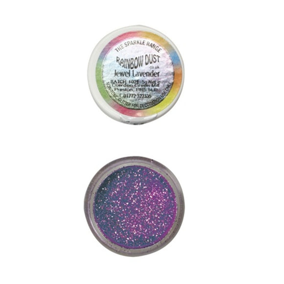 Rainbow Dust Jewel Lavender Sparkle Glitter