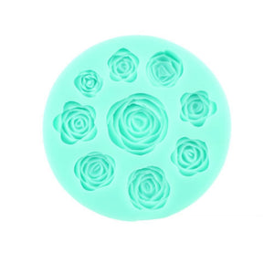 Mixed Roses silicone mould