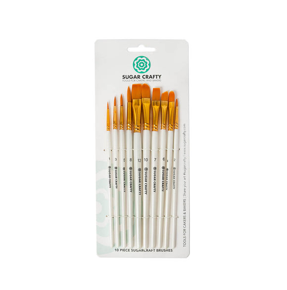 Sugar Crafty Brushes (set of 10)