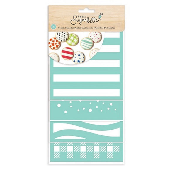 Sweet Sugarbelle Cookie & Cake Stencils (8 pack)