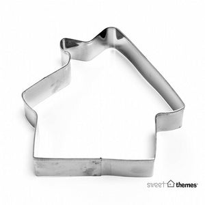 Gingerbread House stainless steel cookie cutter 8.5cm