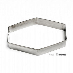 Plaque Straight stainless steel cookie cutter 9.5cm
