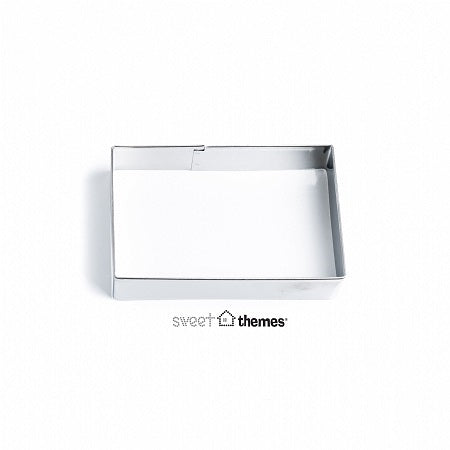 Rectangle stainless steel cookie cutter 5.5x8.5cm