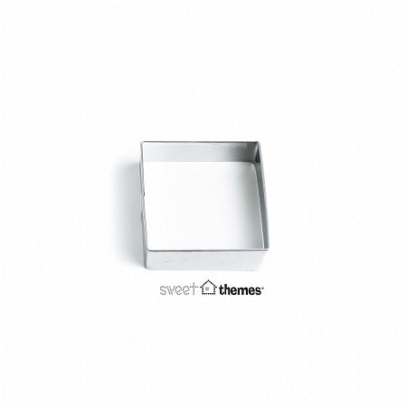 Square stainless steel cookie cutter 5cm
