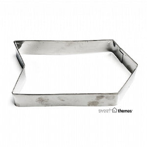 Tag / Arrow stainless steel cookie cutter 10cm